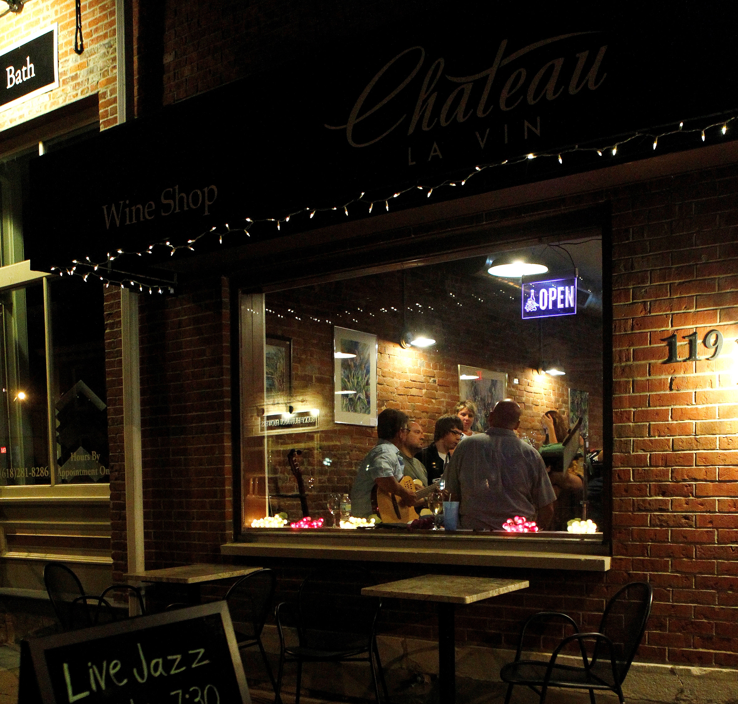 Thursday Night Jazz is Back! | Chateau La Vin
