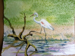 Wine & Watercolor 5-29 one